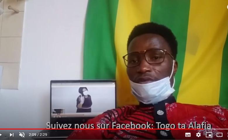 Corona – Video von togoischem und deutschen Team!